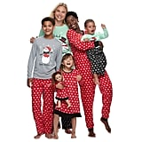 Jammies For Your Families Snowman & Snowflakes Matching Pajamas
