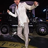 Channing showed off his dance moves in Mexico in April 2013.