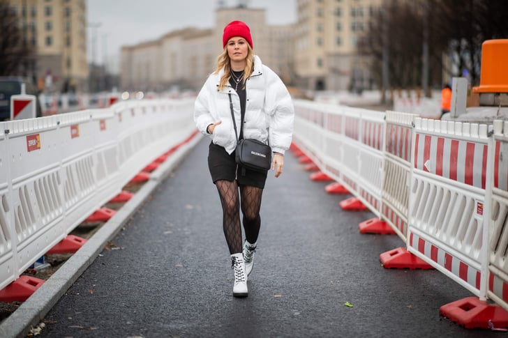 72b1d0cf4 Outfits With Tights 2019 | POPSUGAR Fashion