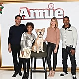 Bobby Cannavale, Quvenzhané Wallis, Cameron Diaz, and Jamie Foxx promoted Annie in NYC on Thursday.