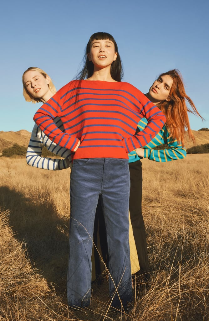 Entireworld Type A Version 8 Boatneck Sweater and Type A Version 1 Corduroy Trousers