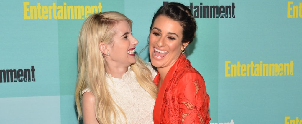 These Pictures of Emma Roberts and Lea Michele Prove They Have One Amazing Friendship