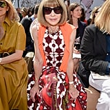 Front Row Celebrity Style Haute Couture Fashion Week