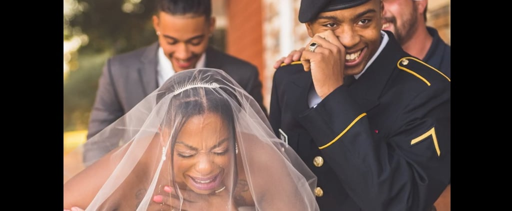 Soldier Son Surprises Mom on Her Wedding Day