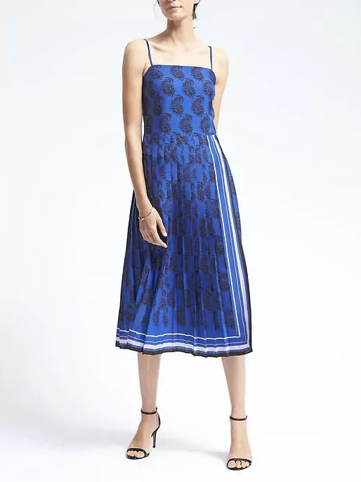 Try a pleated dress