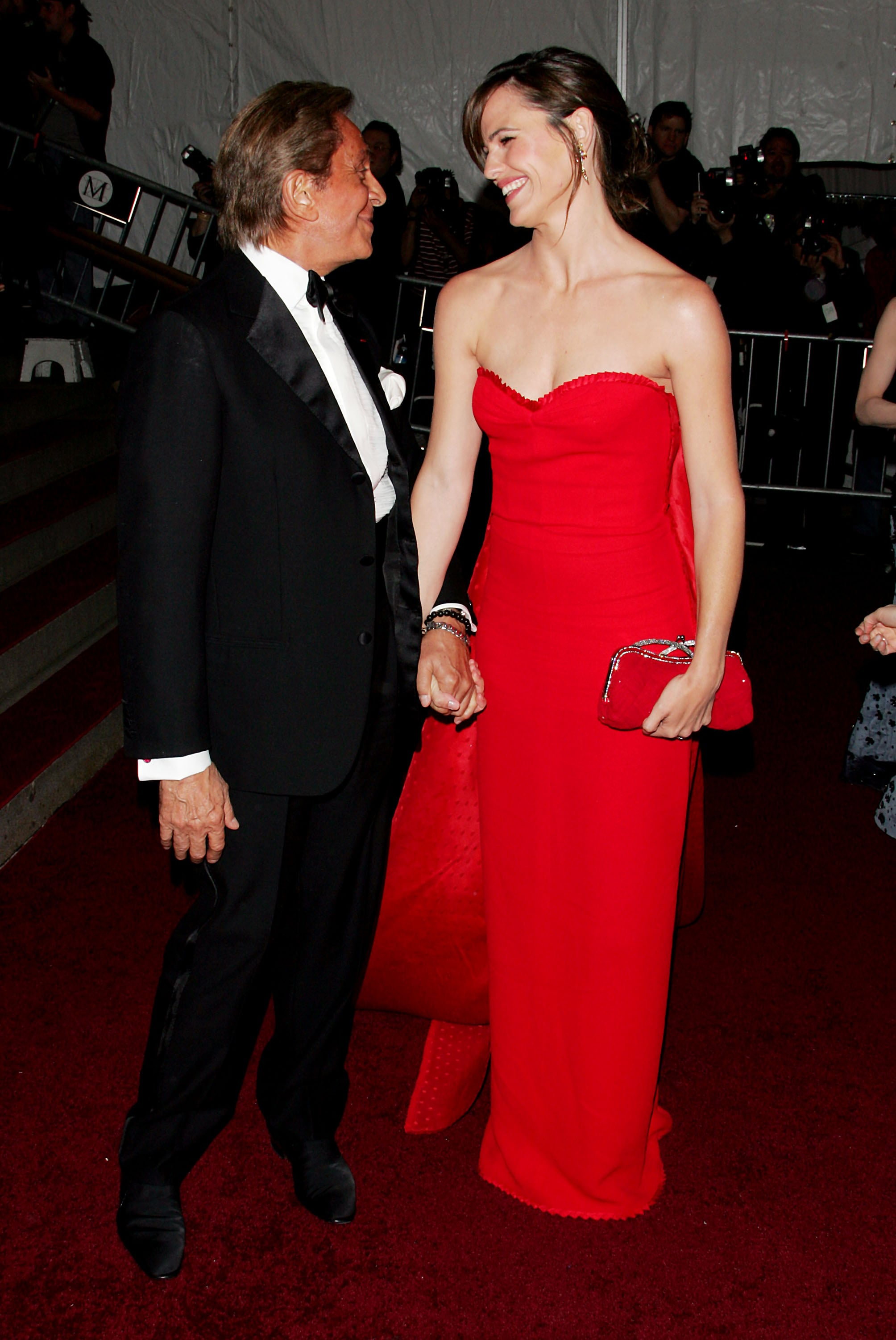 Valentino and Jennifer Garner — 2007