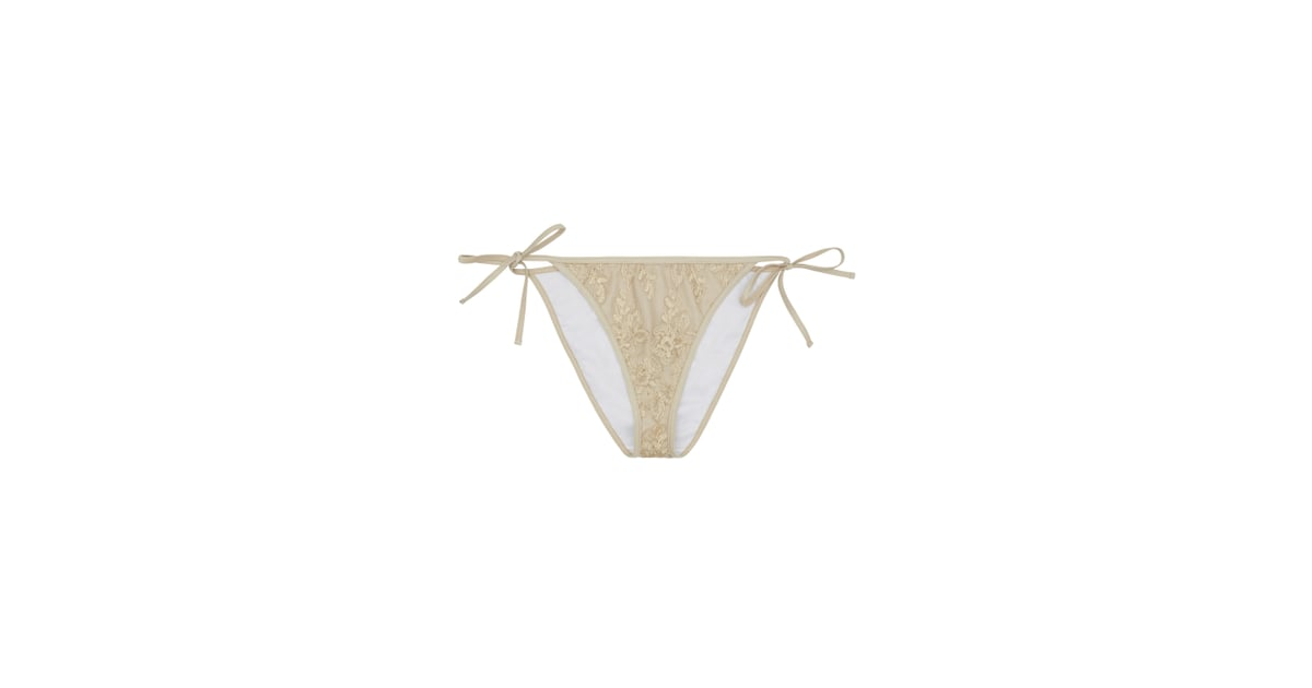 d24ee1d378df0 Hunter McGrady Plus Size Curve Sequin Bikini Tie Side Brief