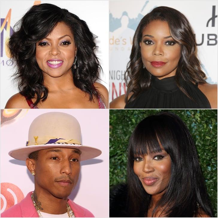 Young black celebrities