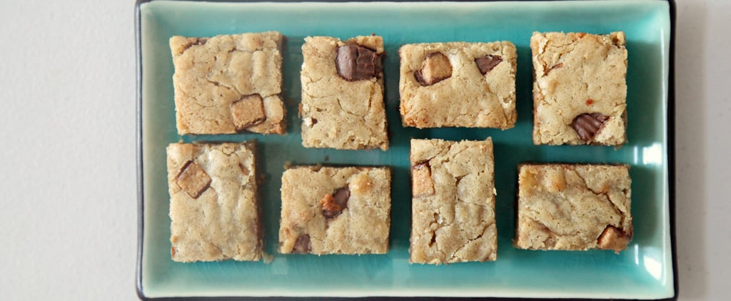 Reese's Peanut Butter Cup Blondie Recipe