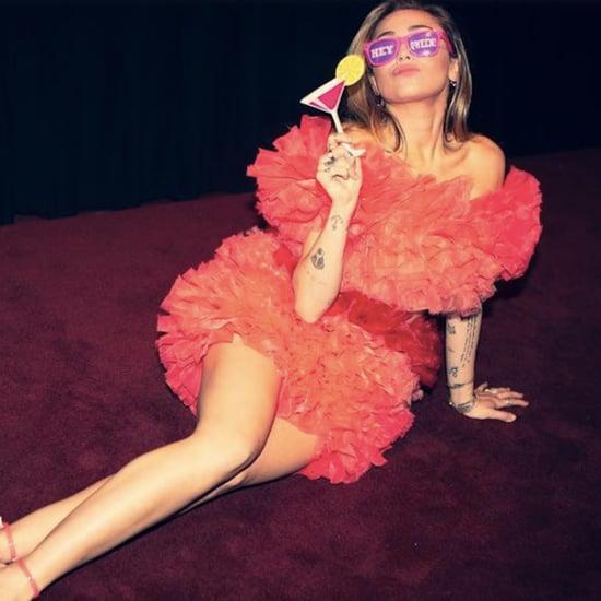 Miley Cyrus Tomo Koizumi Dress at RuPaul's Drag Race Party