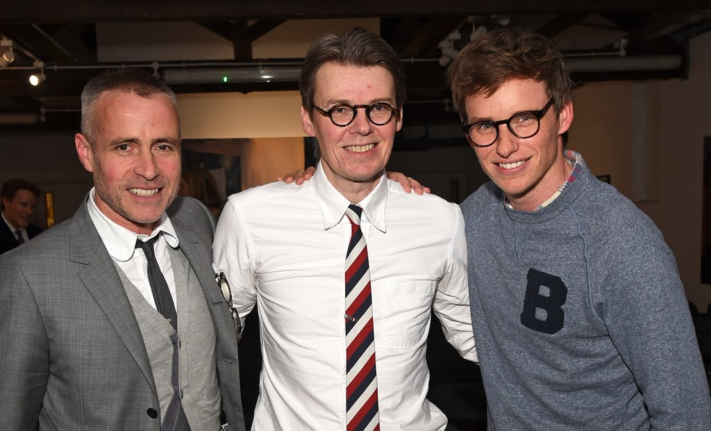 With Thom Browne And Andrew Bolton Eddie Redmayne And Hannah Bagshawe In London June 2017 Popsugar Celebrity Australia Photo 8