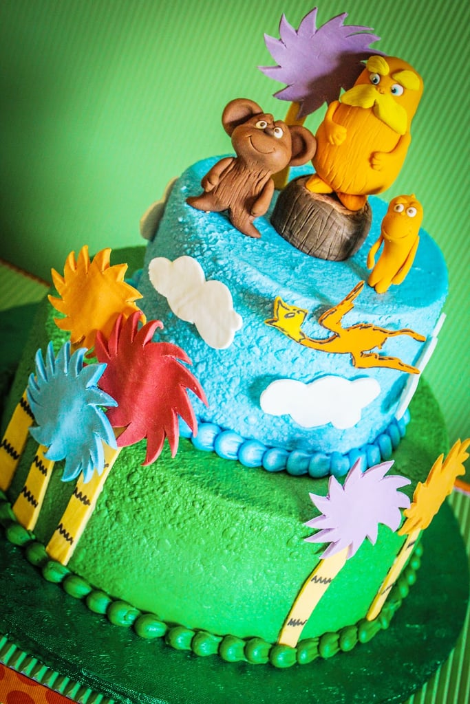 A Lorax-Inspired Cake