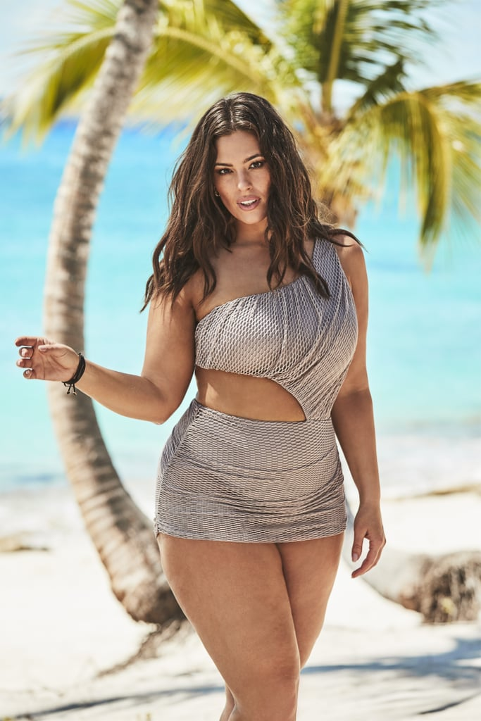 62197c8127 Ashley Graham's Swimsuits For All Campaign With Her Sister | POPSUGAR  Fashion Australia