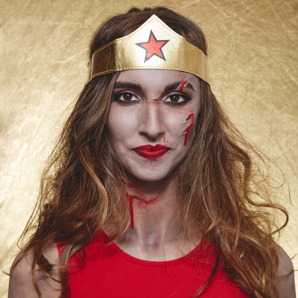 wonder woman halloween makeup | popsugar beauty uk