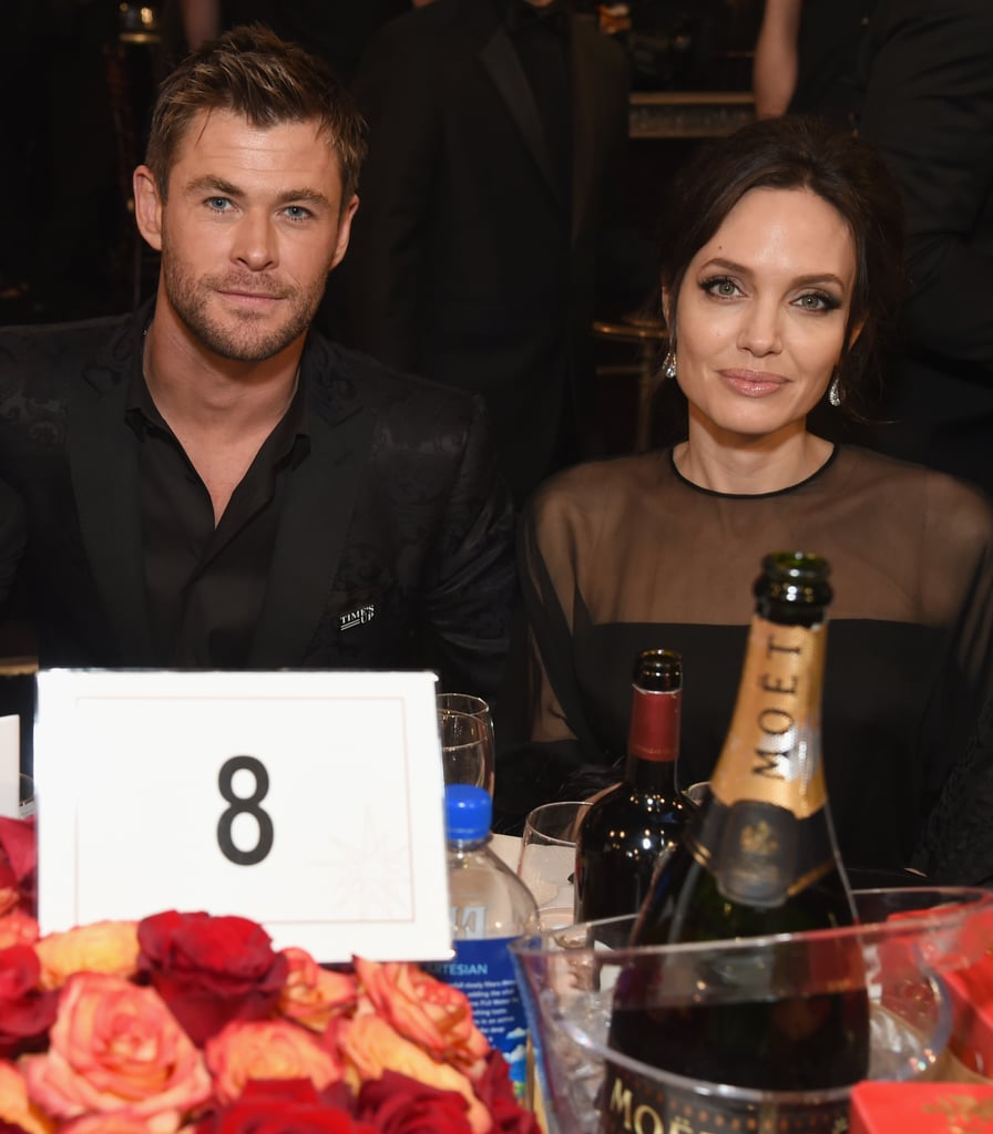Pictured: Chris Hemsworth and Angelina Jolie