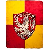 Gryffindor Crest Fleece Throw ($25)