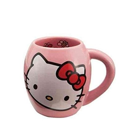 Hello Kitty Pink and White Mug ($15, originally $24)