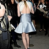Kate Bosworth wore a sexy backless number for her Black Rock premiere in LA.