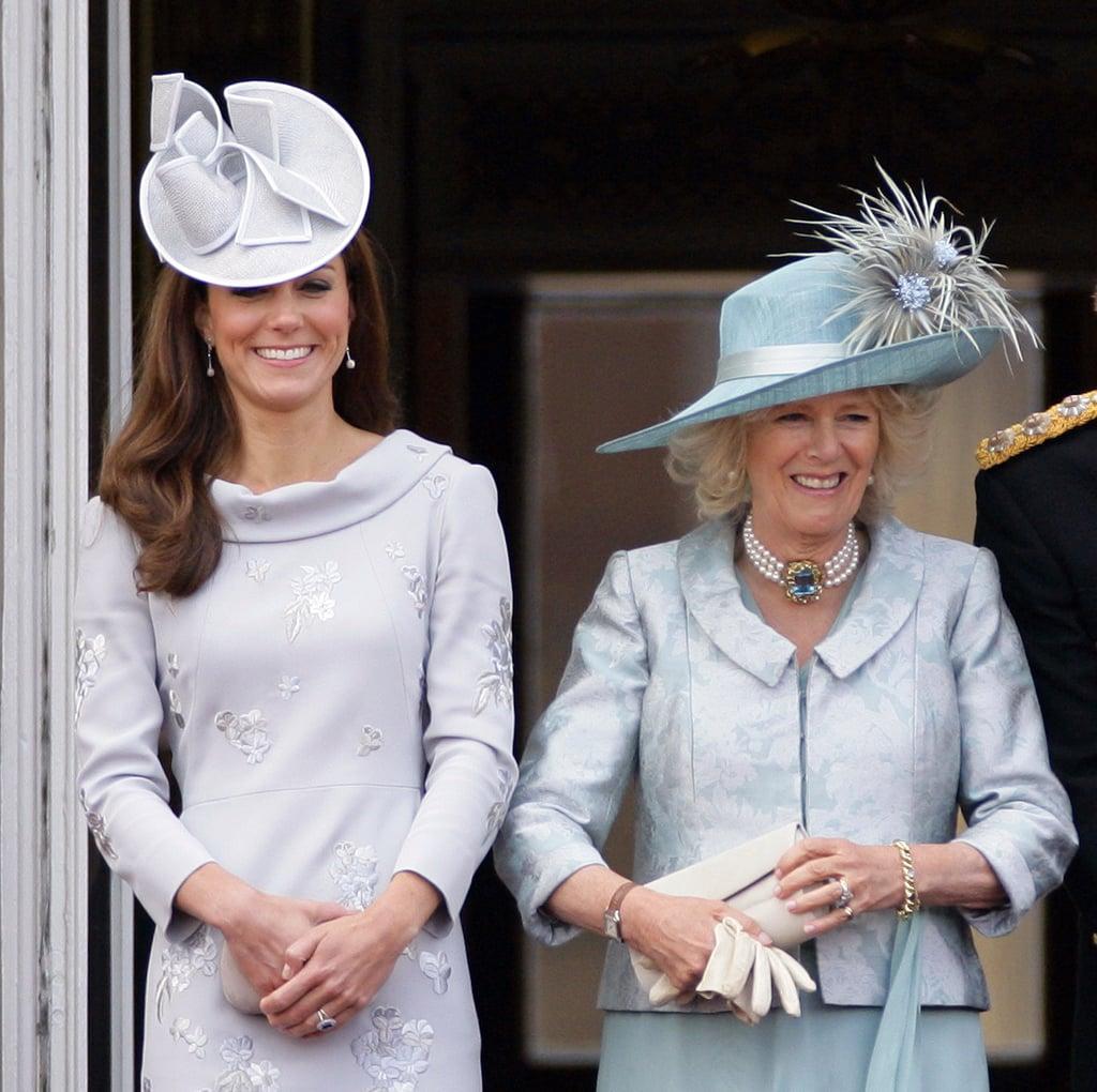 "Camilla: ""I have gin in my handbag."""