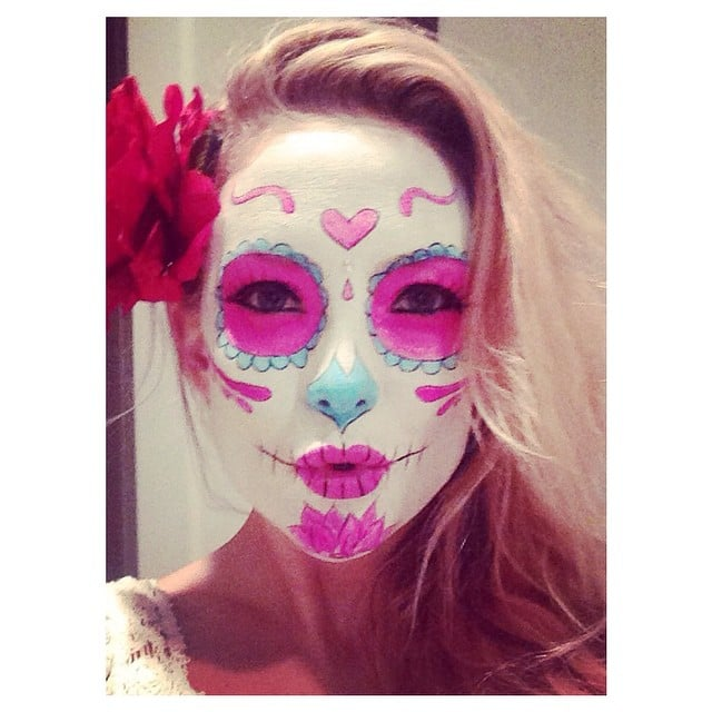 In 2014, Kate Hudson's calavera look didn't hide her pretty eyes.
