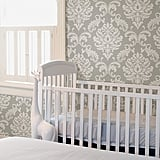 Brewster Home Ariel Grey Wallpaper