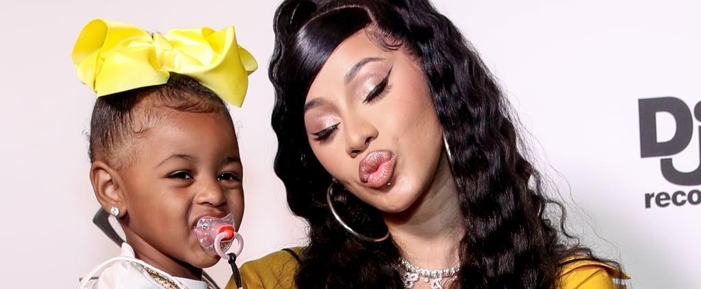 Watch a Sweet Video of Kulture Kissing Cardi B's Baby Bump