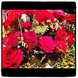 We'll always have a soft spot for roses, like this gorgeous bunch at the Cartier dinner.