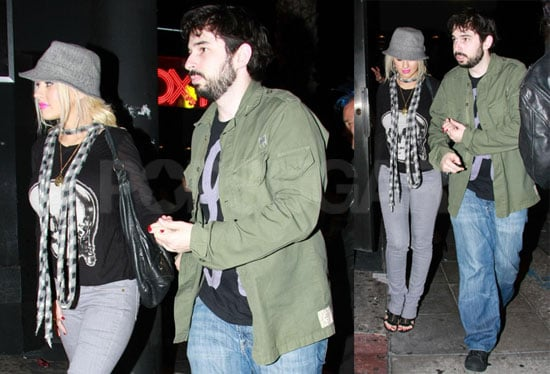 Photos of Christina Aguilera and Jordan Bratman Out in LA