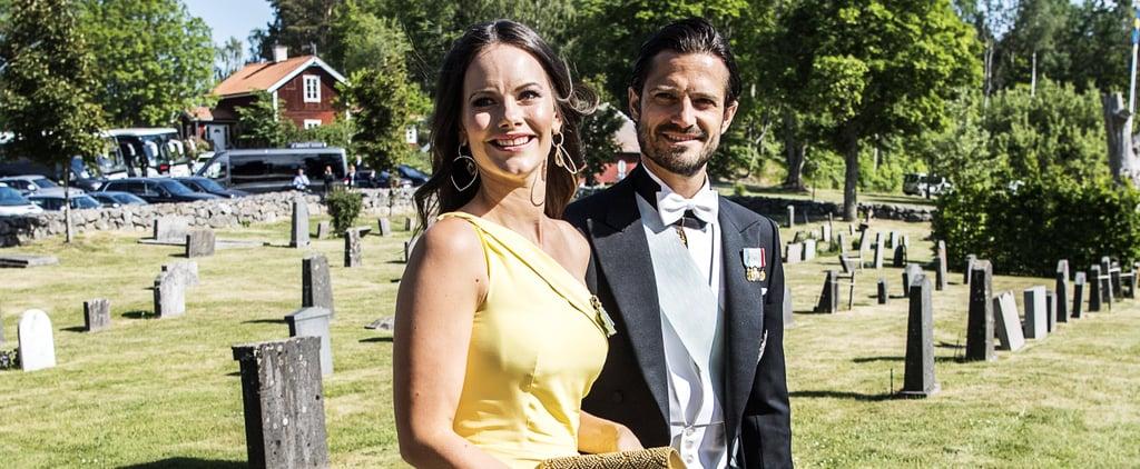 The Swedish Royal Family at Louise Gottlieb's Wedding