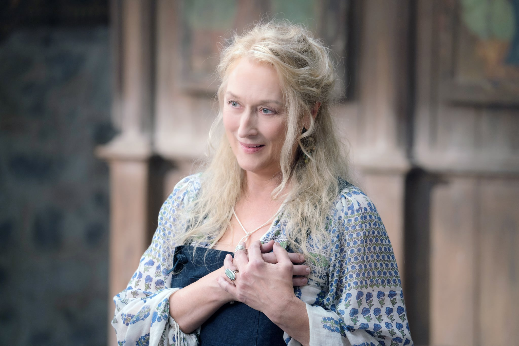 MAMMA MIA! HERE WE GO AGAIN, Meryl Streep, 2018. ph: Jonathan Prime / Universal Studios /Courtesy Everett Collection