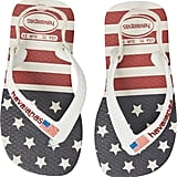 Havaianas Baby Stars and Stripes Flip Flops