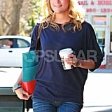 Carrie Underwood Smiles Big For a Friendly LA Lunch Date