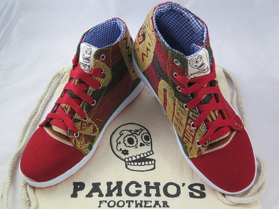 Inca Red High-Top Sneakers