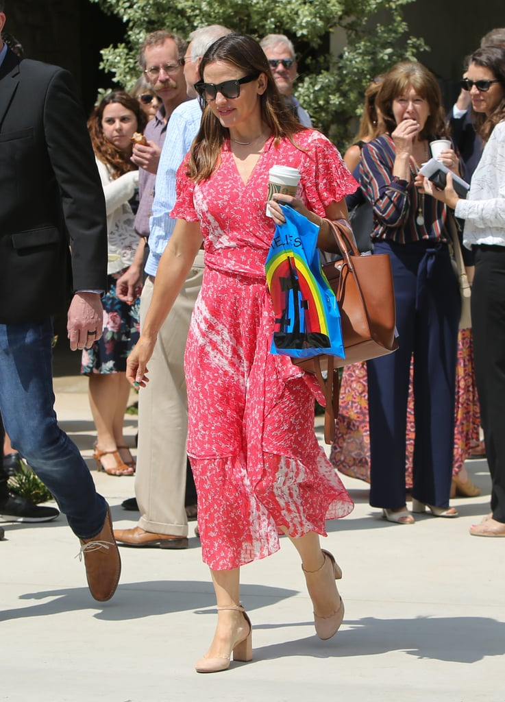 Family Day! Ben Affleck and Jennifer Garner Reunite For Easter Service With Their Kids