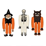 Vintage Halloween Tissue Dancers Hanging Decor Set of Three