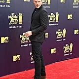 Chris Pratt at the MTV Movie and TV Awards 2018
