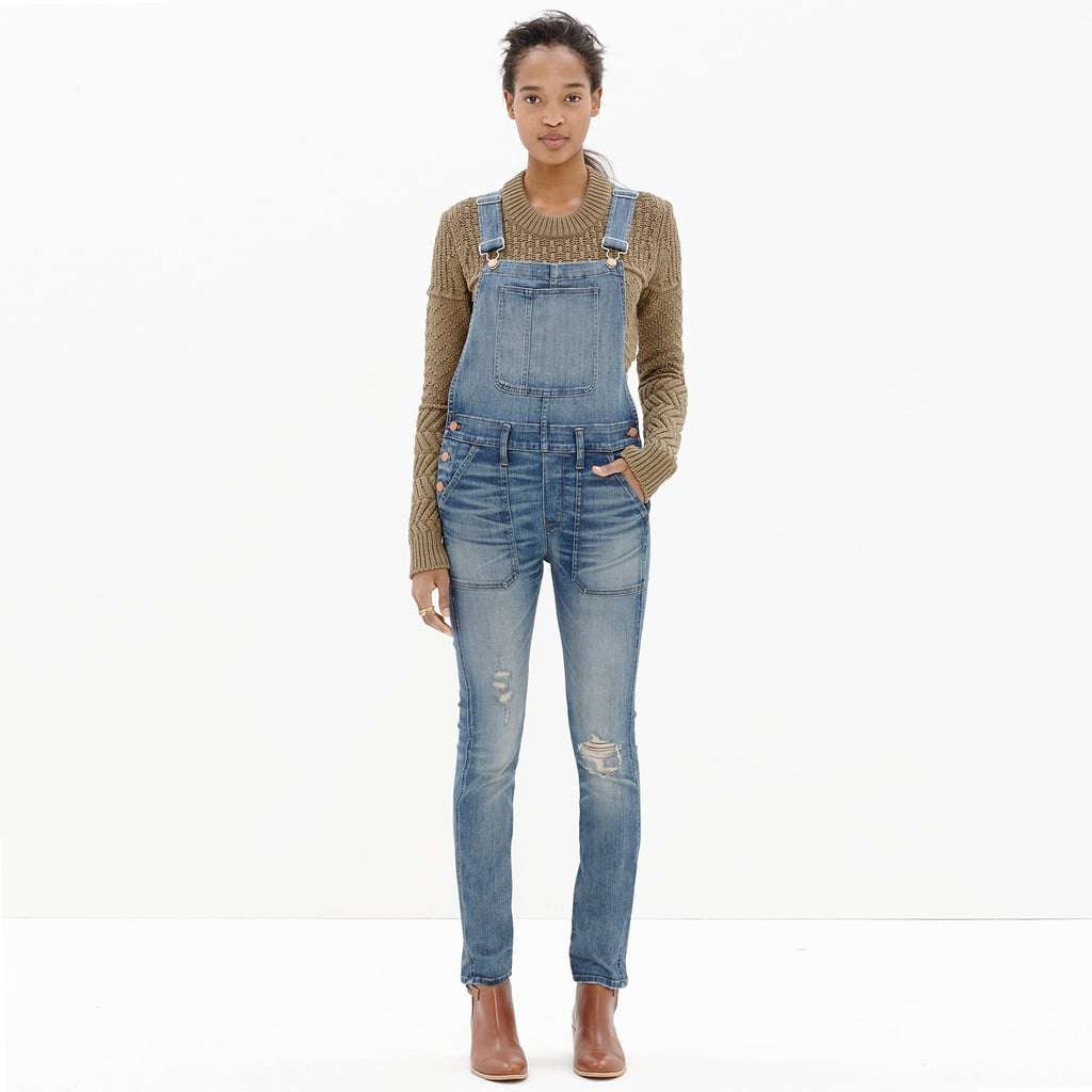 Madewell Skinny Overalls in Adrian Wash ($158)