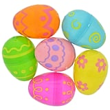 Decorated Plastic Easter Eggs