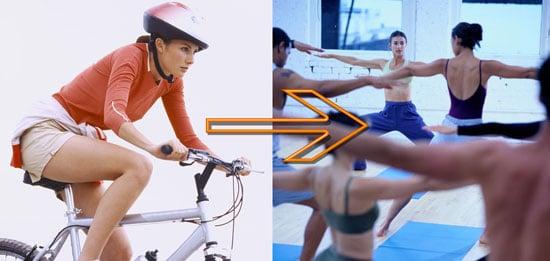 Fitness Switchup: Yoga Instead of Biking
