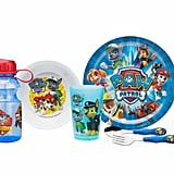 Zak! Paw Patrol Kids 6-Piece Dinner and Drinkware Set