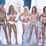 When Karolina Kurkova, Tyra Banks, Heidi Klum, Gisele Bundchen and Adriana Lima stole the show in 2003