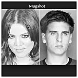 Khloé Kardashian wished Scott Disick a happy birthday with their old mugshots. Source: Instagram user khloekardashian
