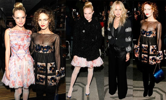 Photos of Vanessa Paradis and Kate Bosworth at the Rouge Coco de Chanel Lipsticks Dinner
