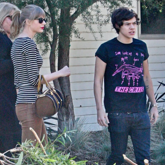 Harry Styles Leaving Taylor Swift's House in LA | Pictures