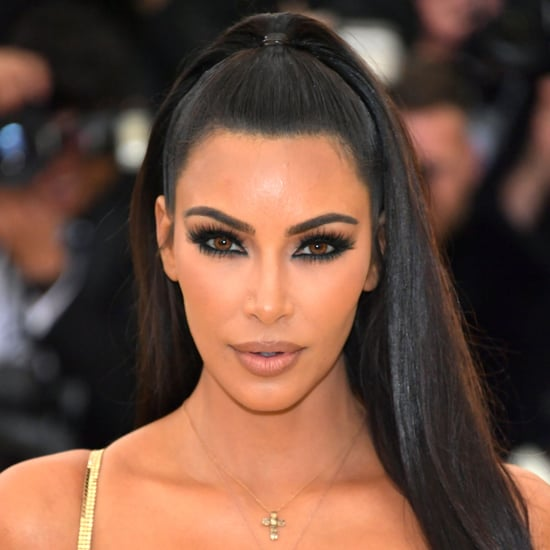 Kim Kardashian Wore Gold Contacts to the 2018 Met Gala