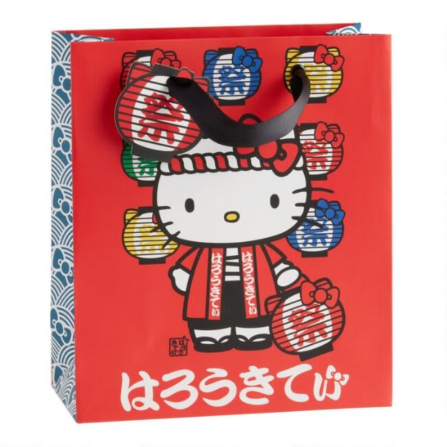 Small Hello Kitty Omatsuri Gift Bag Set