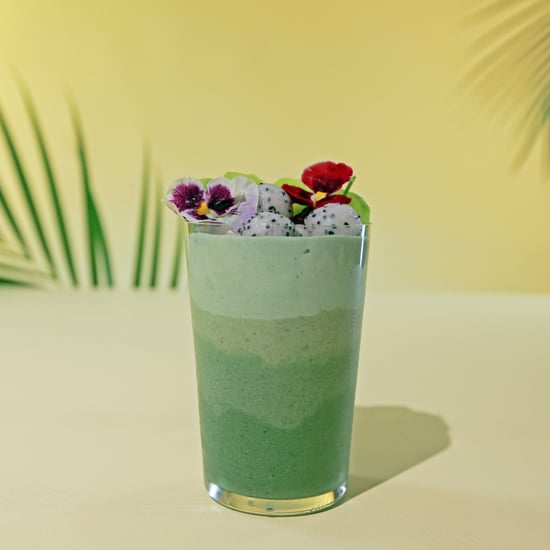 Spirulina Boozy Green Smoothie