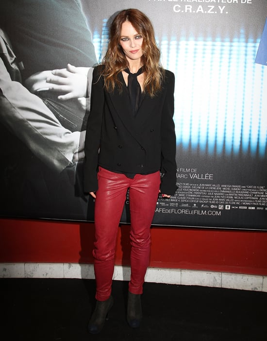 Vanessa Paradis on First Post-Split Red Carpet Pictures