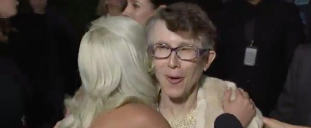 Lady Gaga Meeting Rachel Bloom's Mom at 2019 Critics' Choice