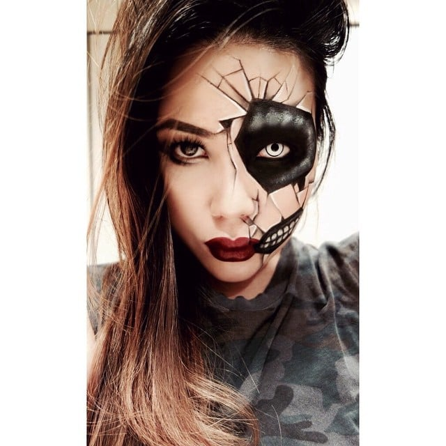 Cracked-Doll Makeup | ...